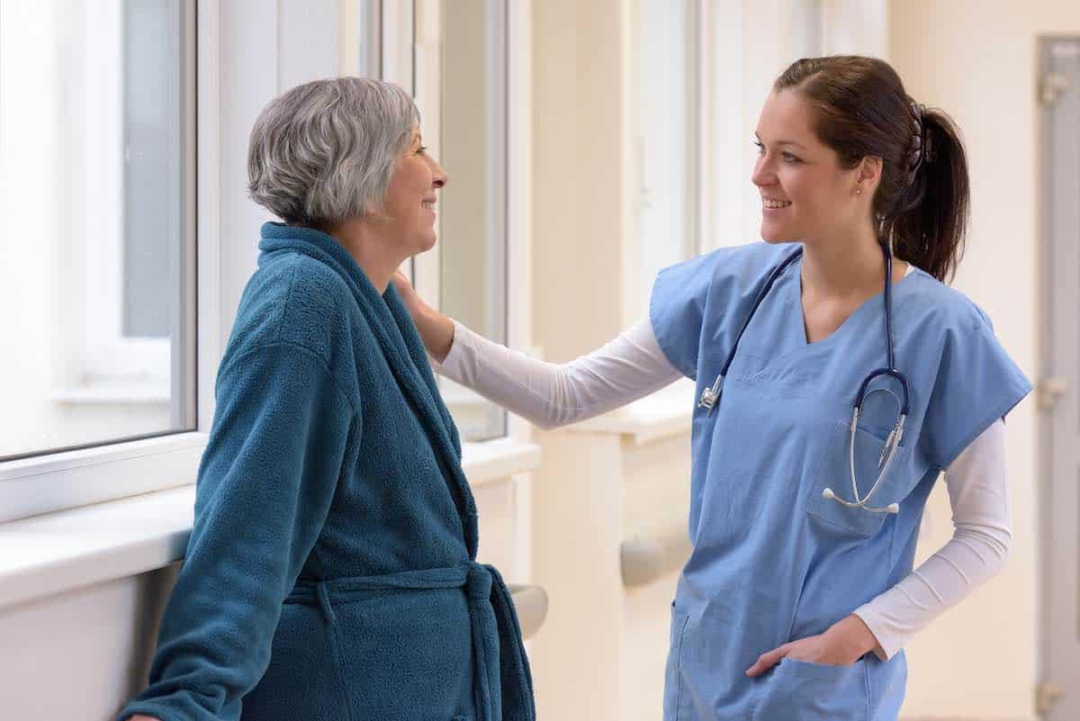 Enfermera practicante