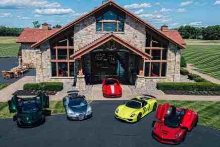 ¡El sueño de todo coleccionista! Esta mega increíble propiedad en Nueva Jersey viene con suficiente espacio para tú colección de autos y puede ser tuya por $10.5 millones