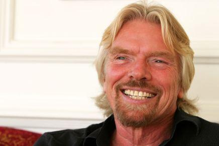 Sir Richard Branson: El magnate fundador del conglomerado Virgin Group que controla más de 400 empresas