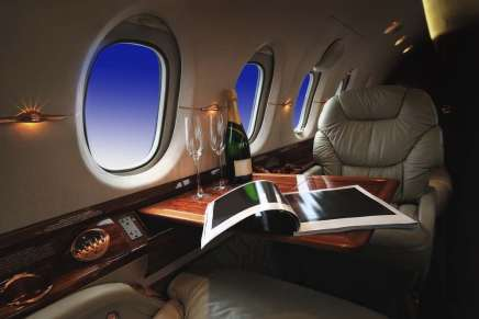 Ahora podrás rentar un avión privado para hacer una sesión de fotos privadas