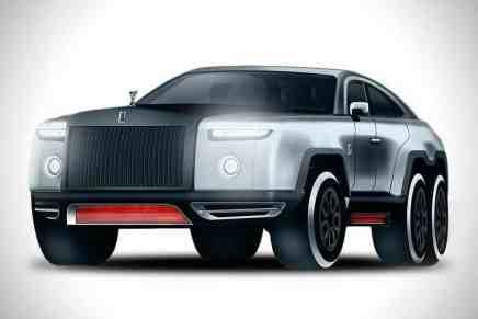 Rolls-Royce Devil, un bestial concepto de tres ejes