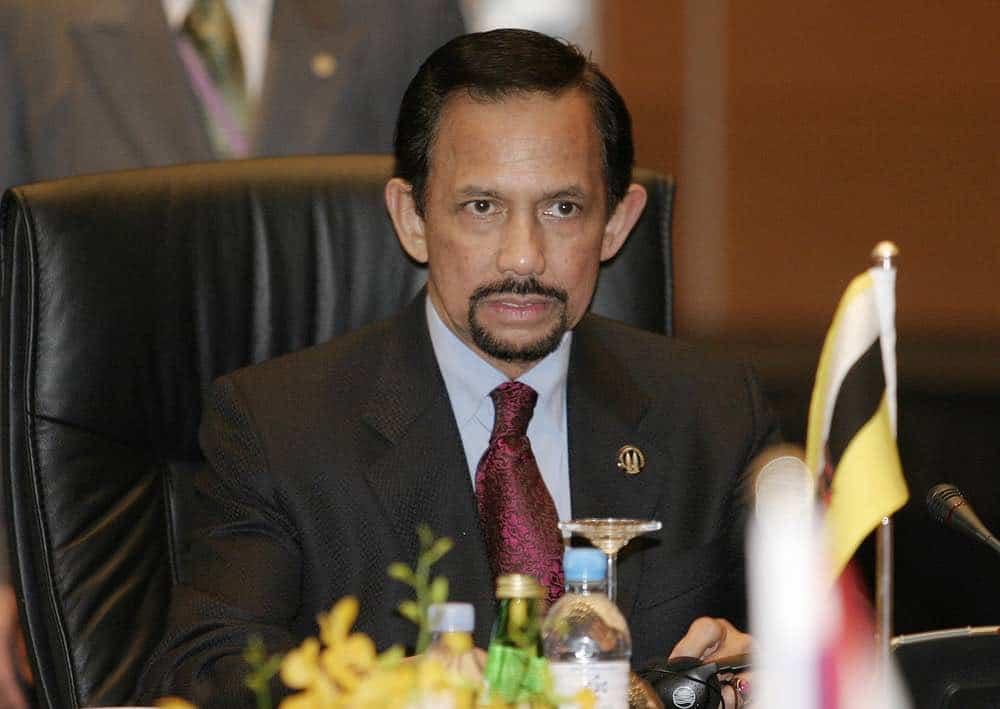 Sultán Haji Hassanal Bolkiah de Brunei