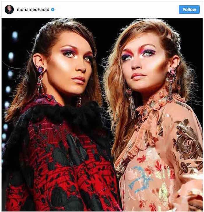 Las supermodelos Bella y Gigi Hadid