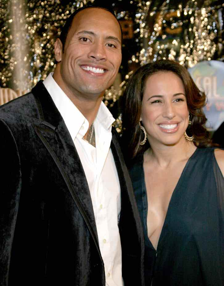 "Dwayne Johnson ""The Rock"" y Dany García"
