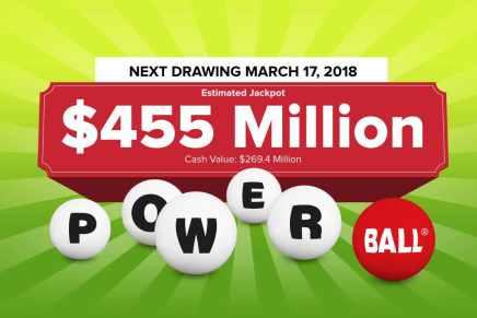 ¿Quién será el próximo multimillonario? El premio mayor de la lotería Powerball sube a $455 millones