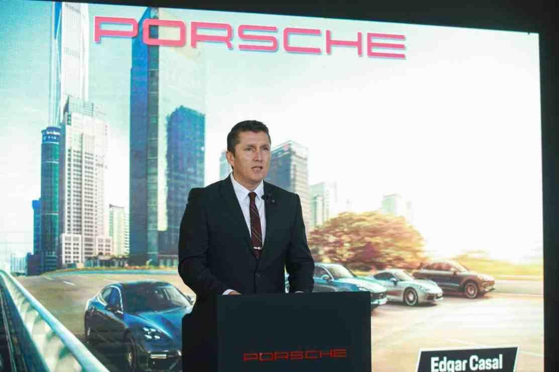 Edgar Casal, Director de Porsche de México