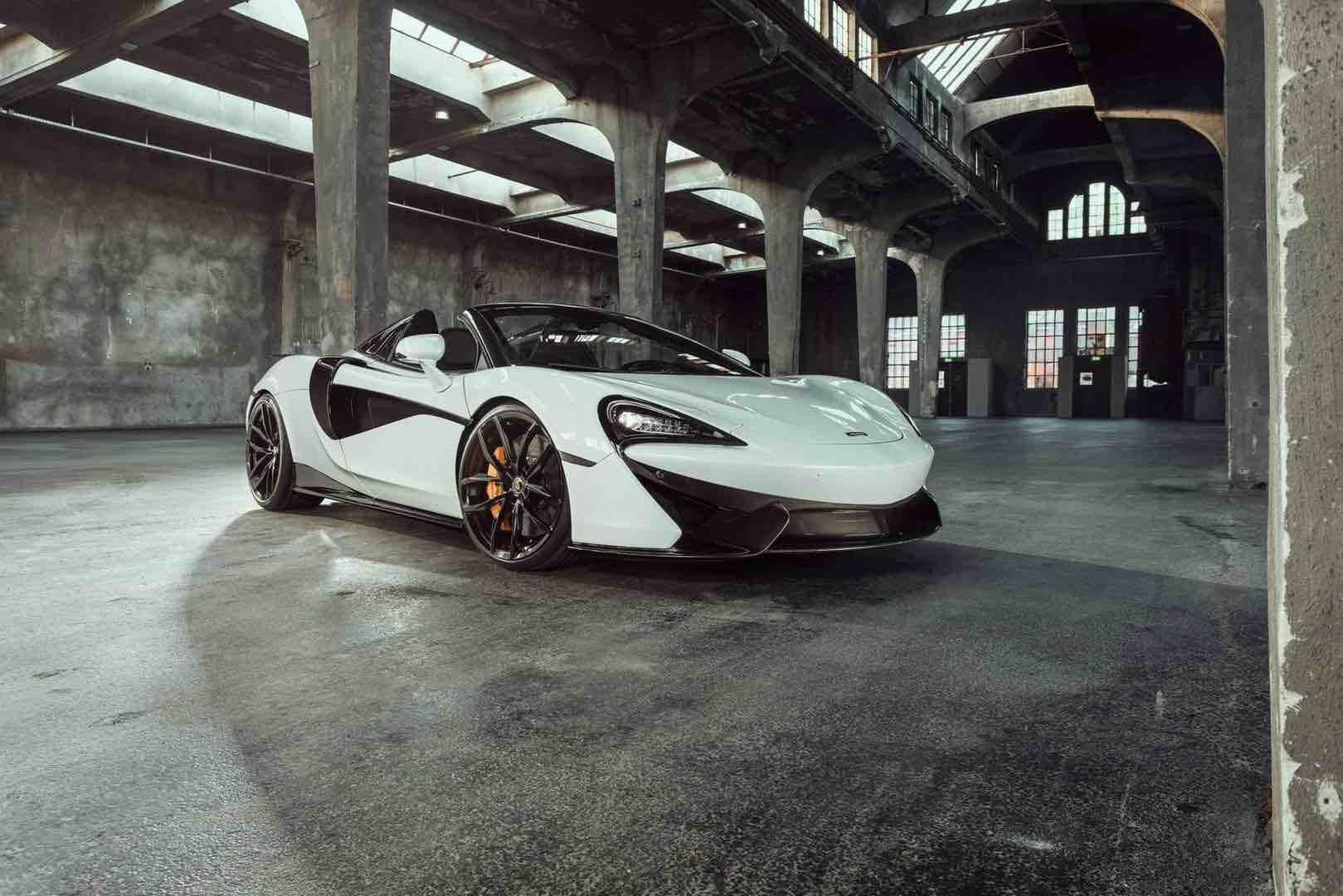 McLaren 570S Spider por Novitec