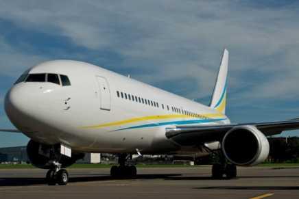 !Un verdadero palacio en el cielo! Echa un vistazo al avión privado Boeing 767 que cuesta $30.000 por hora y que un príncipe saudí utiliza para sus viajes de negocios