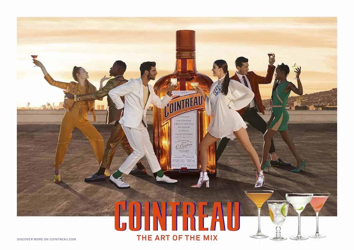 """Cointreau se transforma con su nueva campaña: """"THE ART OF THE MIX"""""""