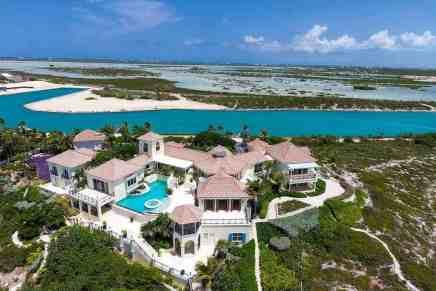El ultra lujoso escondite de Prince en las Islas Turcas y Caicos se subastará, después de haber sido listado por dos años y no encontrar un comprador por $12 millones
