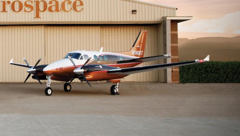 Avión turbohélice Nextant G90XT completa su primer vuelo