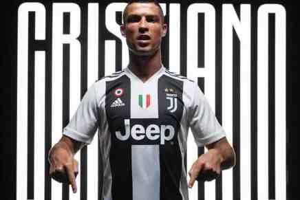 Juventus informa que ya vendió $60 millones en jerseys de Cristiano Ronaldo en tan solo 24 HORAS… casi la mitad de su costo de transferencia