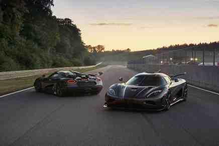 !Y llegó el final! Koenigsegg ha nombrado sus dos últimos súper coches Agera: Thor y Väder