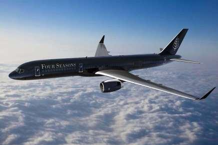 Four Seasons te llevará alrededor del mundo en 24 días en un avión privado por $143.000