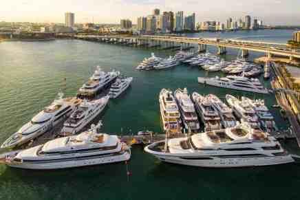 Las 5 mejores marinas en Miami para atracar tu mega yate de lujo