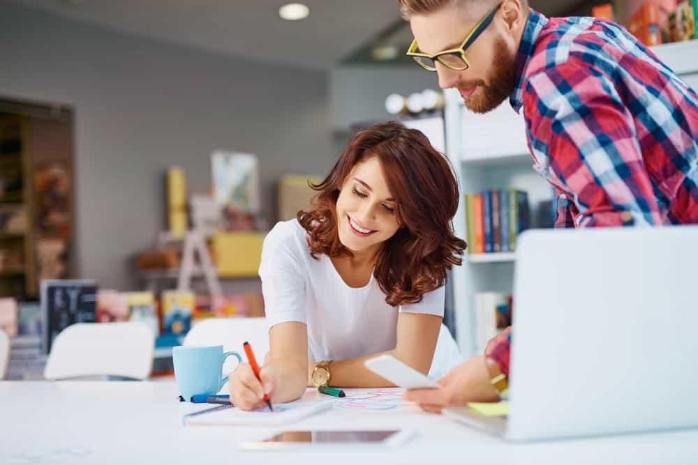 Gran aumento de las mujeres en las clases creativas laborales en los Estados Unidos
