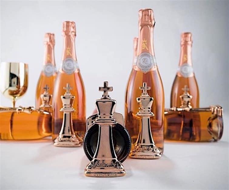 50 Cent lanza su exclusivo champán de $1.000 la botella Le Chemin du Roi