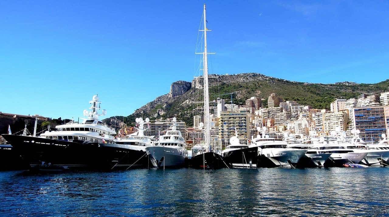 Marina en Mónaco