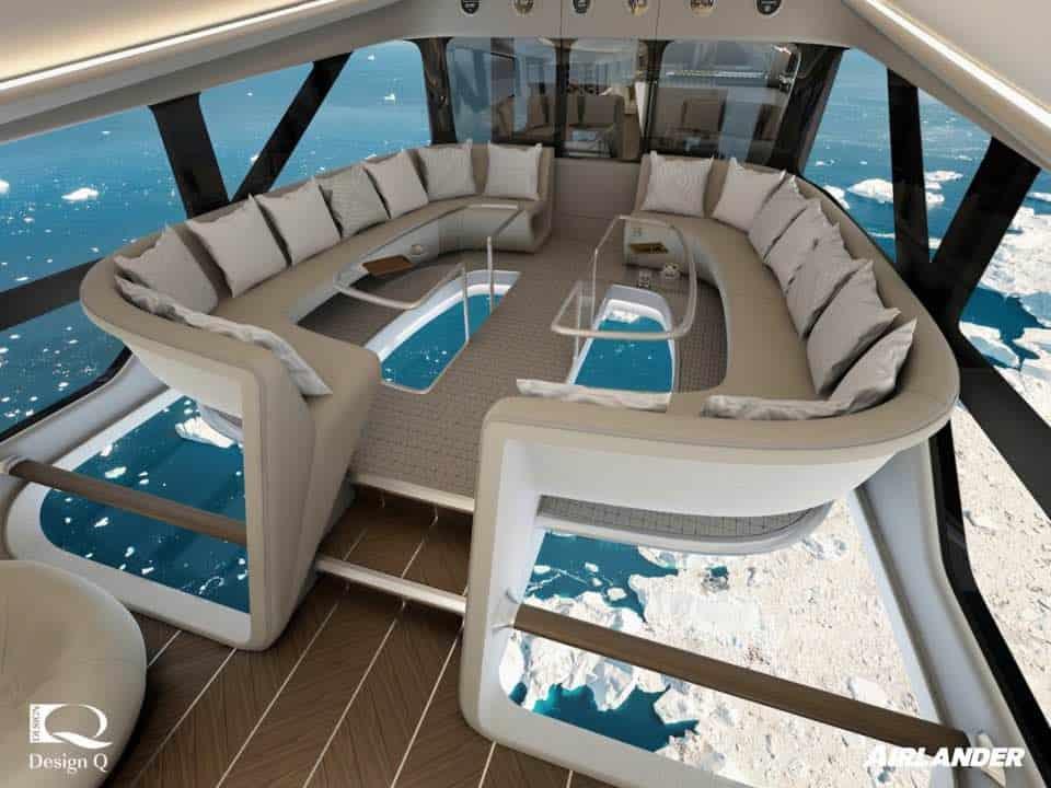 AIRLANDER 10: La súper nave que conquistará los cielos mientras disfrutas de una experiencia única de vuelo