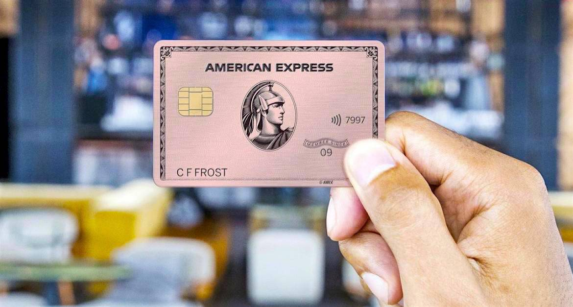 American Express Pink Gold Card