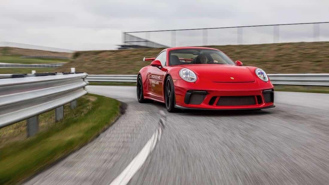 Cómo aprender física con un Porsche 911