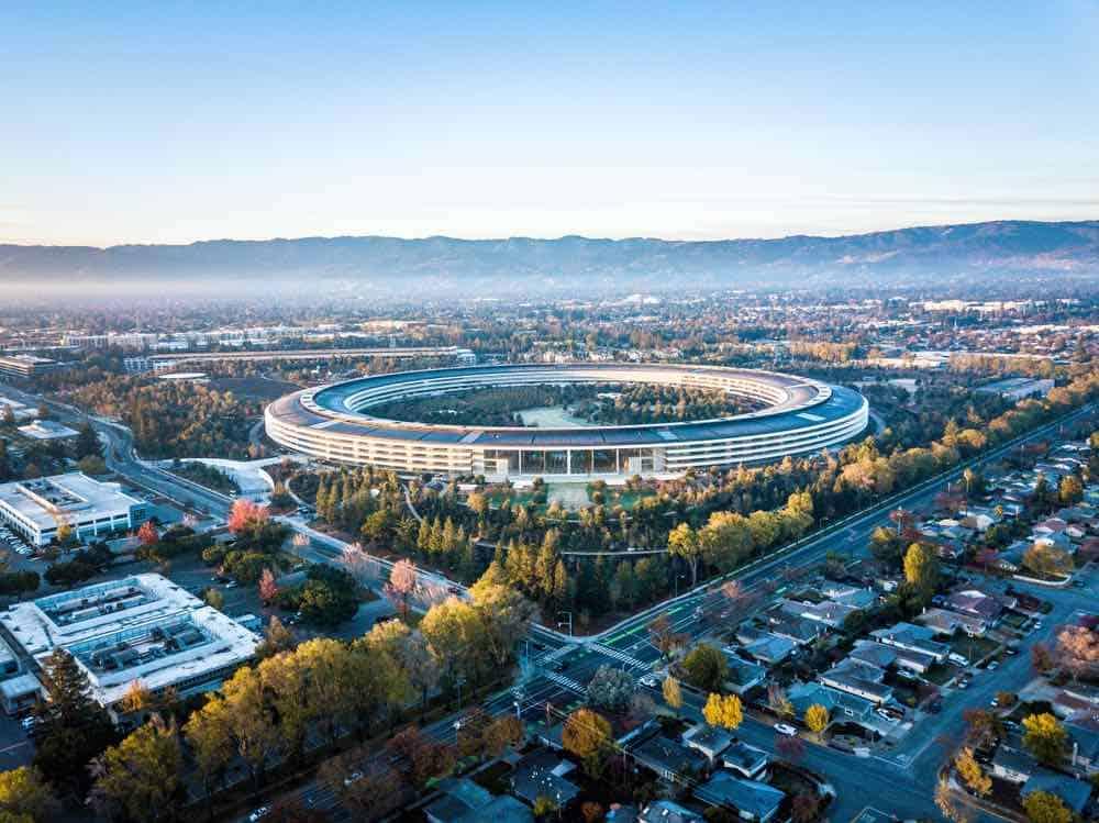 Sede principal de Apple en Cupertino, California
