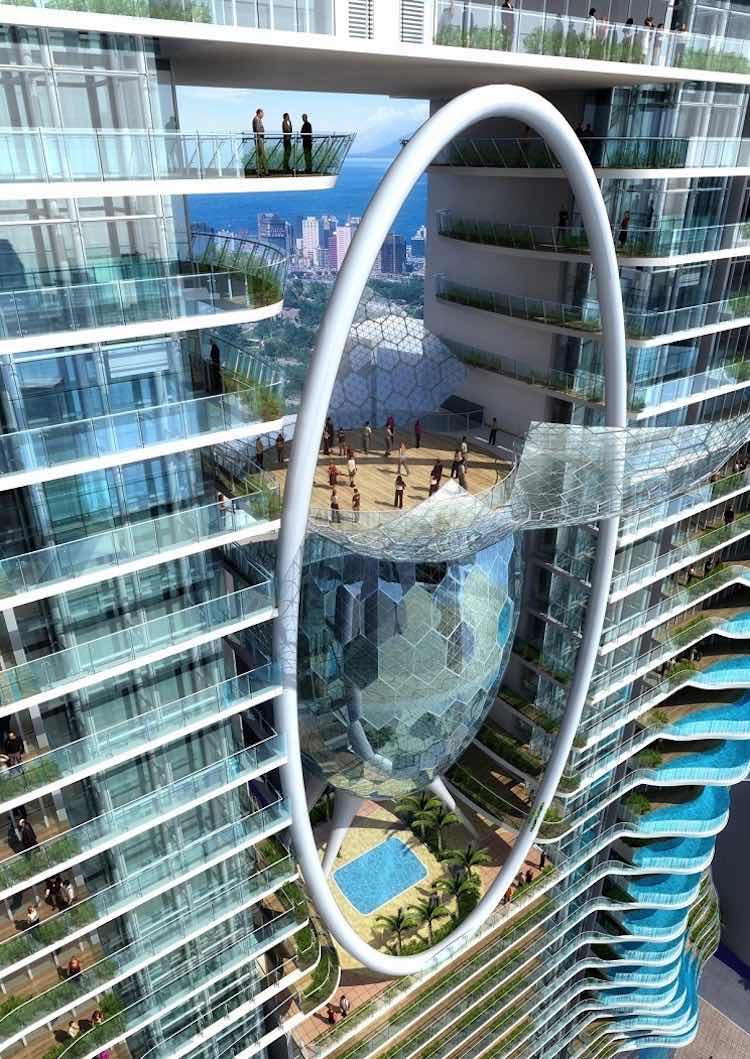 """Bandra Ohm: Estos condominios de lujo en India ofrecen a sus millonarios residentes """"piscinas privadas"""" en los balcones"""