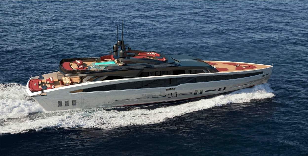 """El dúo dinámico en la construcción naval, Franco Gianni y Josh Rodríguez, se unen para crear """"Bandida"""", el mega yate más moderno del 2018"""