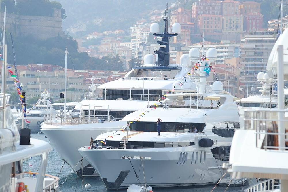 Yates en Mónaco