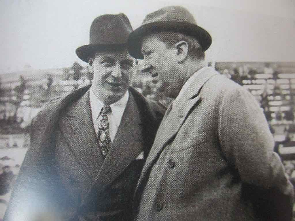 Ettore Bugatti y Jean Bugatti