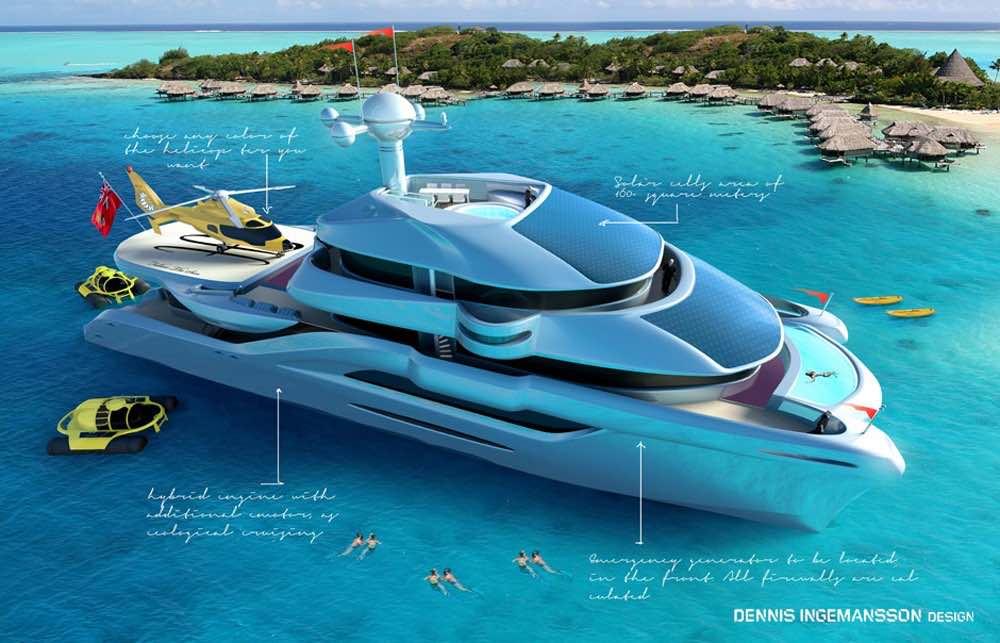 Conozca el más nuevo y lujoso catamarán del mundo ...