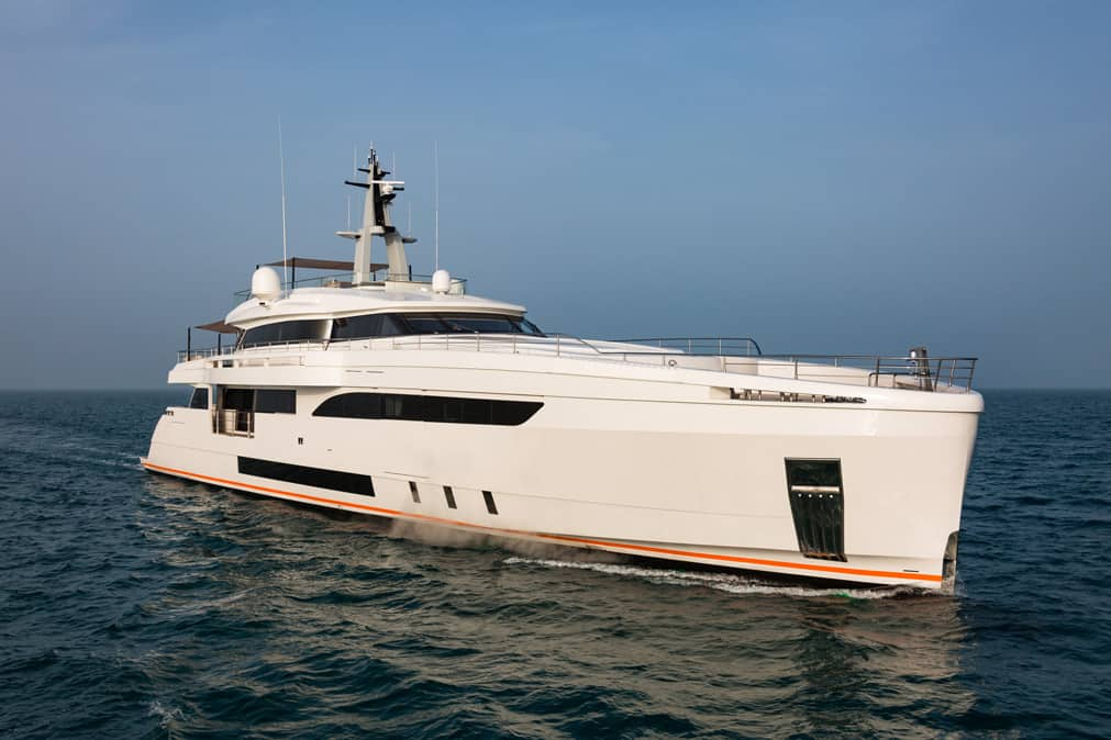 El mega yate WIDER 150 es un magnífico representante de la excelsa tradición naval italiana