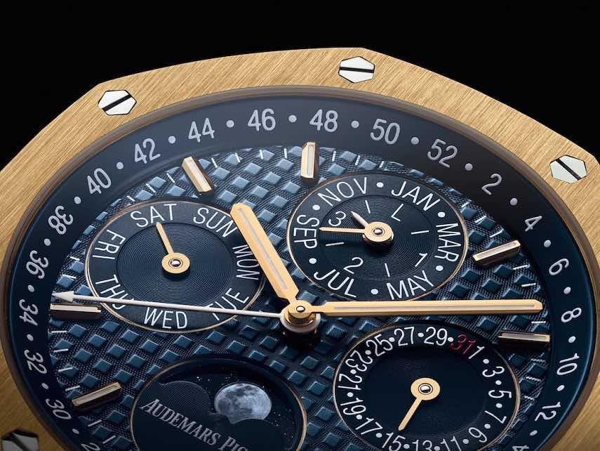 "Exclusivo Audemars Piguet ""Royal Oak Perpetual Calendar"" en oro macizo de 18 quilates"