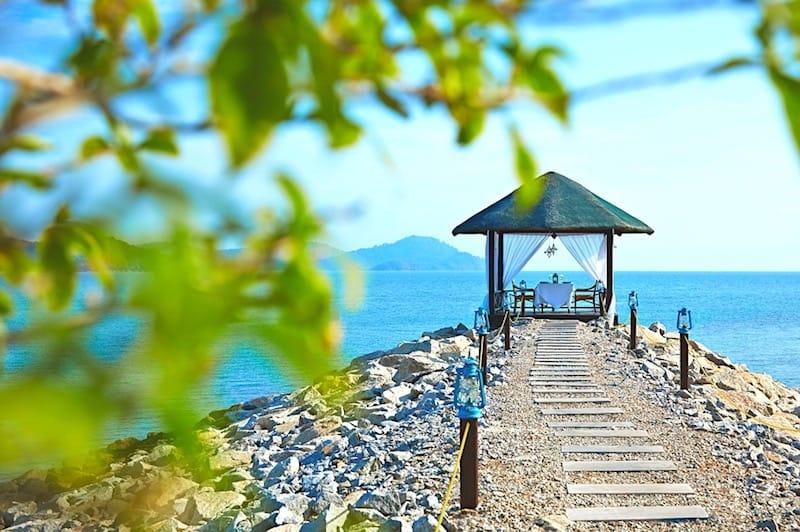 Disfruta de los increíbles servicio de primera clase del resort Vivanta Rebak Island en Langkawi, Malasia