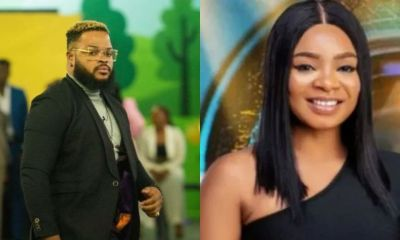 BBNaija: Whitemoney tells Queen what to do against Sunday eviction
