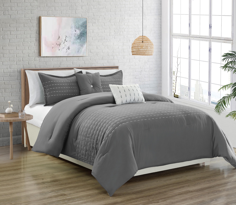 Alvaro 5 Pc Comforter Set Mega Vente