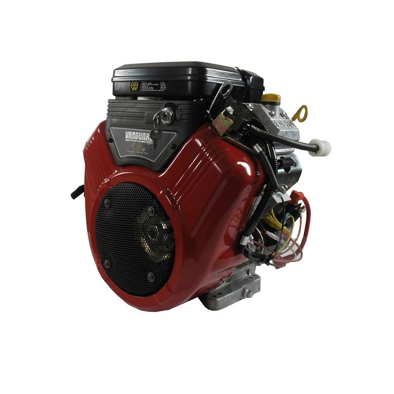 Moteur 18cv Axe Horizontal Bicylindre Vanguard V Twin Ohv 570cc Briggs Multiples