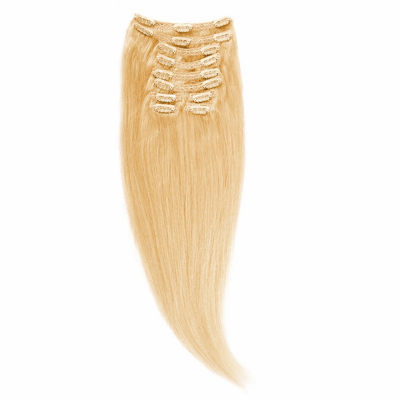 Clip-On Par Natural Volum 50cm 180gr Blond Mediu #18