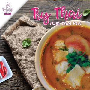 TOM YAM PLA THAI FOOD