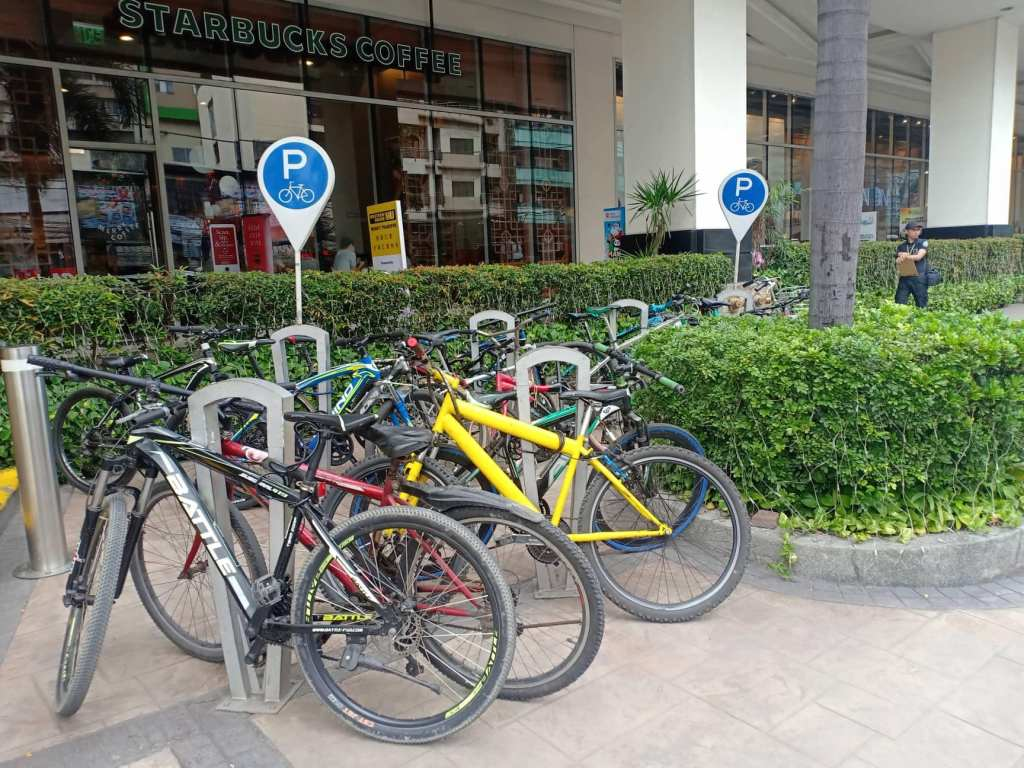 Malls in the Philippines offering free bike parking