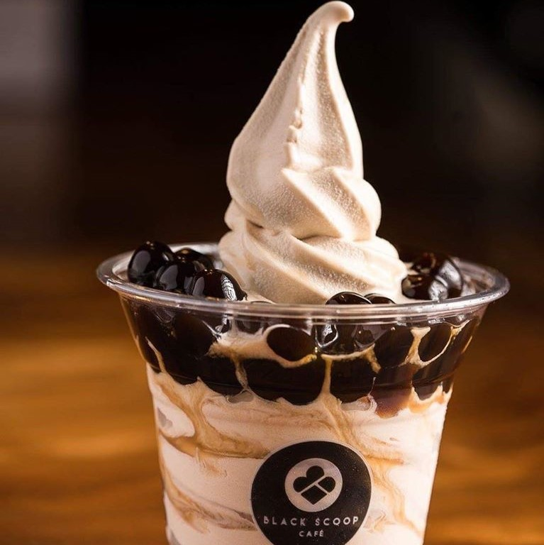 Cool down with Black Scoop Cafe's offerings!