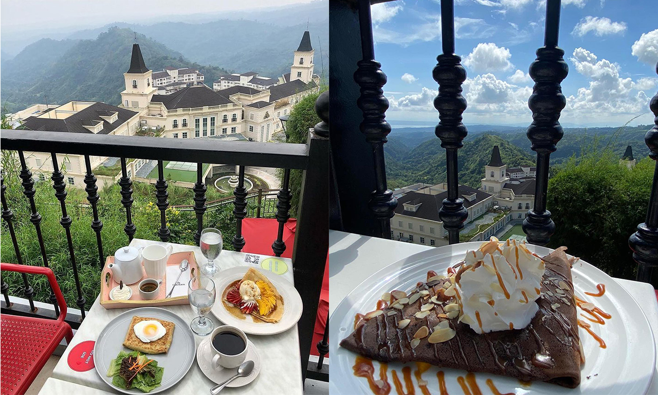 La Creperie: Where To Eat In Tagaytay With View