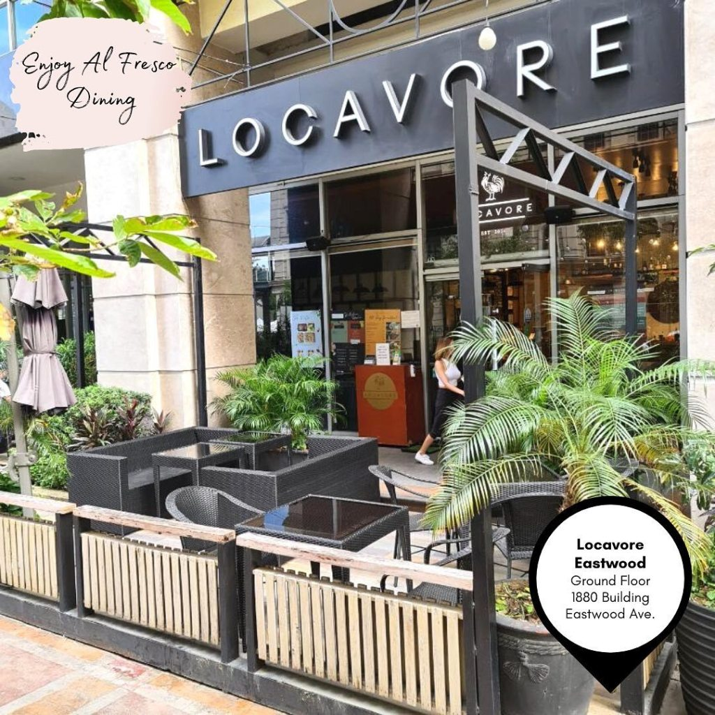 Locavore: Date Places In Quezon City