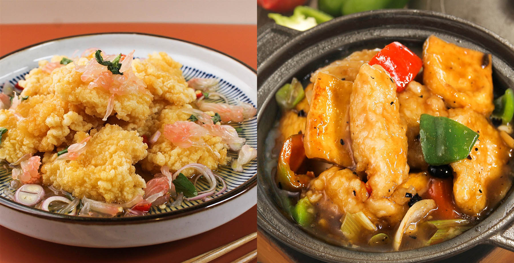 King Chef fish dishes