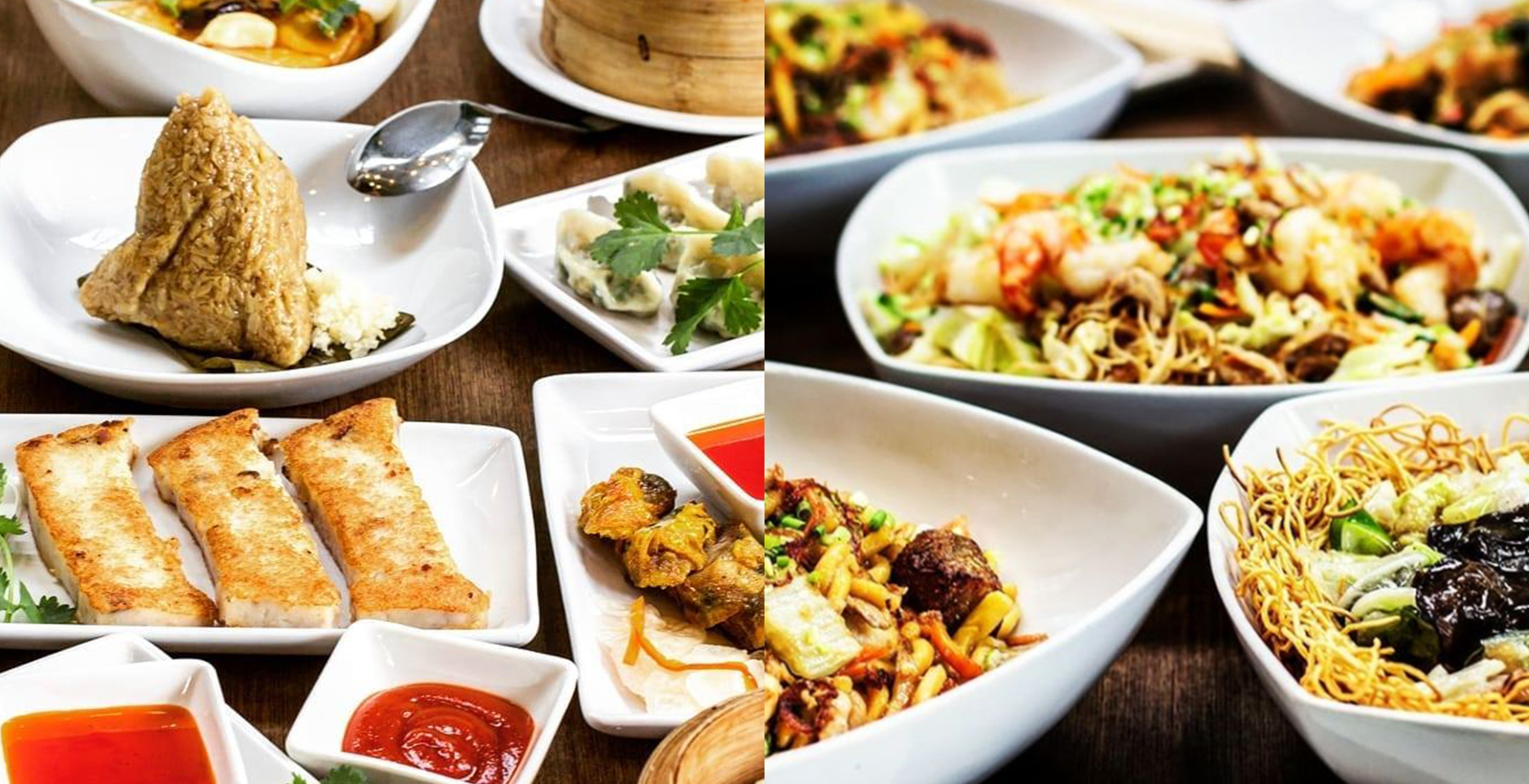 Chinese dishes from Mann Hann