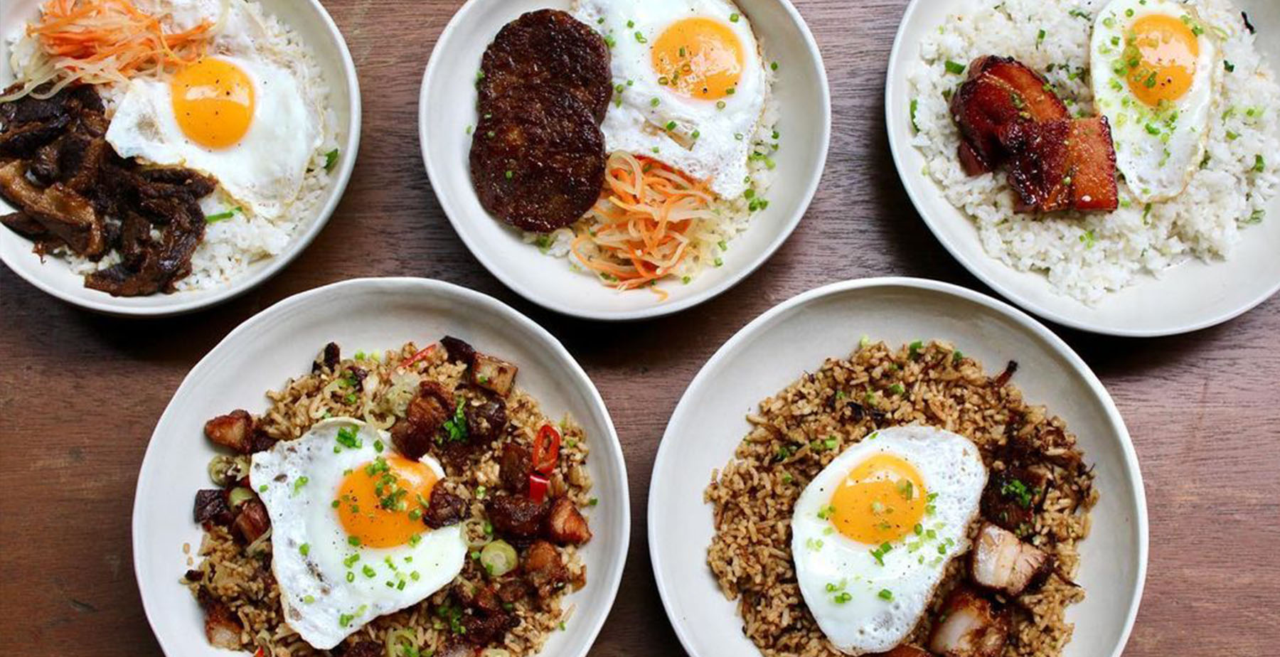 Breakfast bowls from Wildflour Cafe