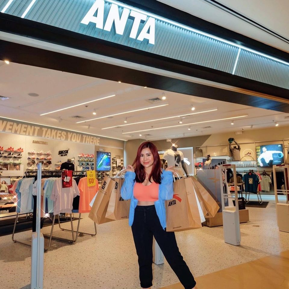 Cristina Decena shopping for her personal favorites in Uptown Mall!