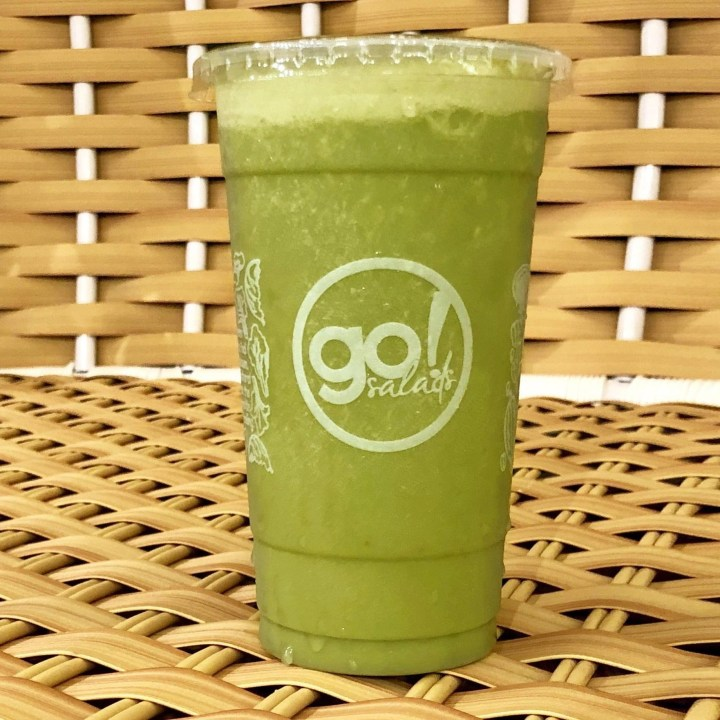 Drink your greens, kids! Consider this your sign to try Go Salads' Breakfast Smoothie.