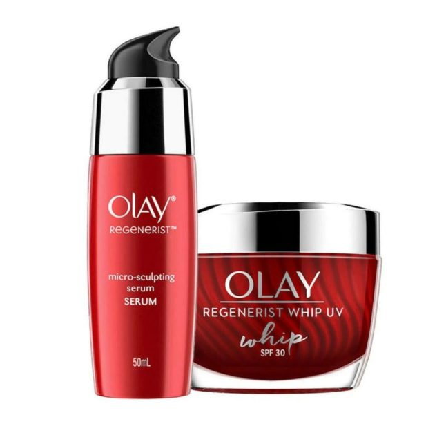 Get this Olay Regenerist line from Watsons and make her look younger than her age!