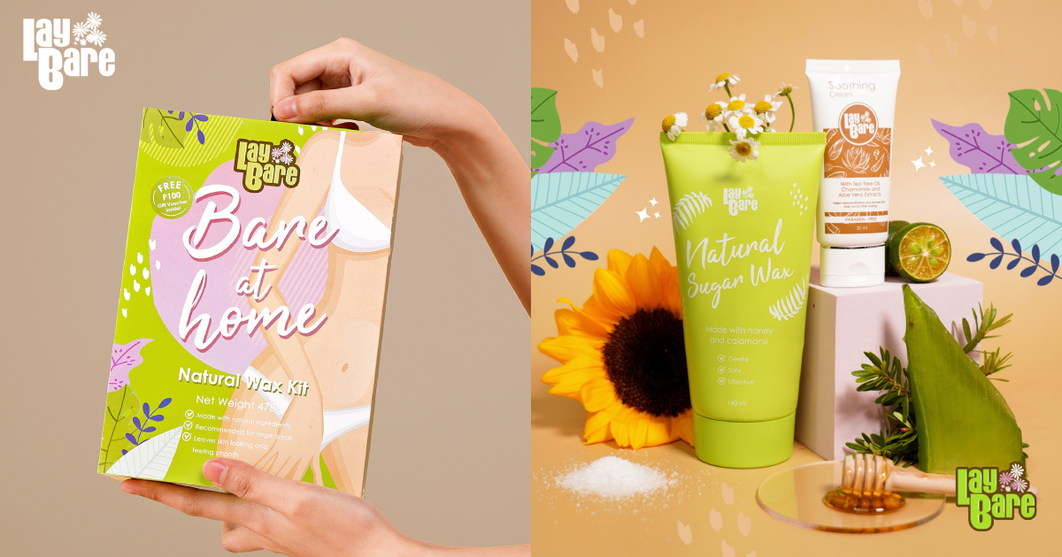 Get your mom a premium and salon-like waxing experience with this Bare at Home Natural Wax Kit from the expert, Lay Bare.